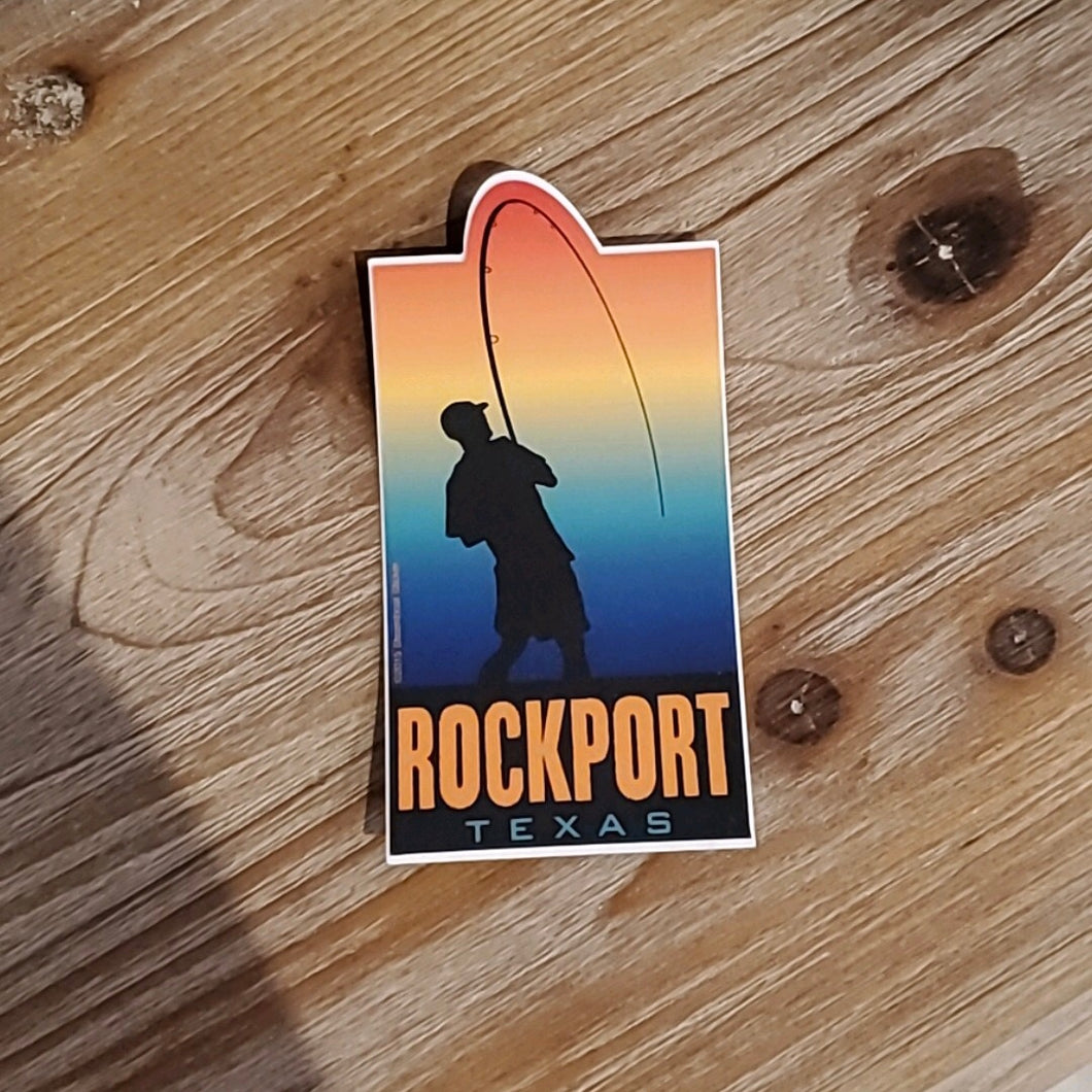 Fish Rockport Sticker