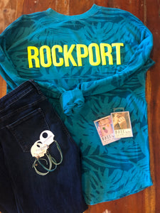 Palm Leaf Rockport Jersey