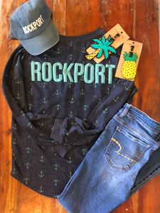 Rockport Anchor Jersey Tee