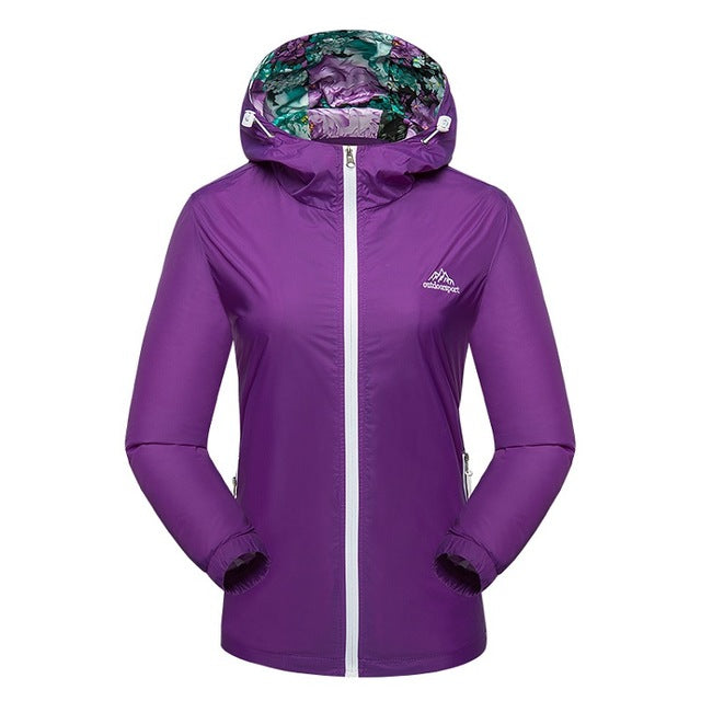 Women's Breathable Quick Dry Jacket - hikerware