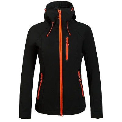 Women Softshell Hiking Jacket - hikerware