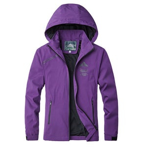 Softshell Windbreakers Breathable Outdoor Jacket - hikerware
