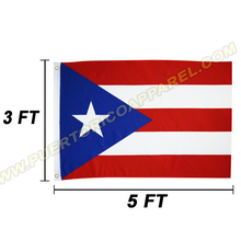 Load image into Gallery viewer, puerto rican flag