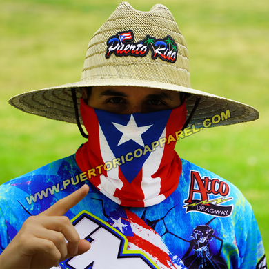 Puerto Rico Flag Face Mask Shield | Neck Gaiters