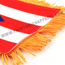 Load image into Gallery viewer, Puerto Rican Flag for Car