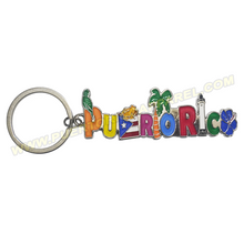 Load image into Gallery viewer, puerto rico keychain