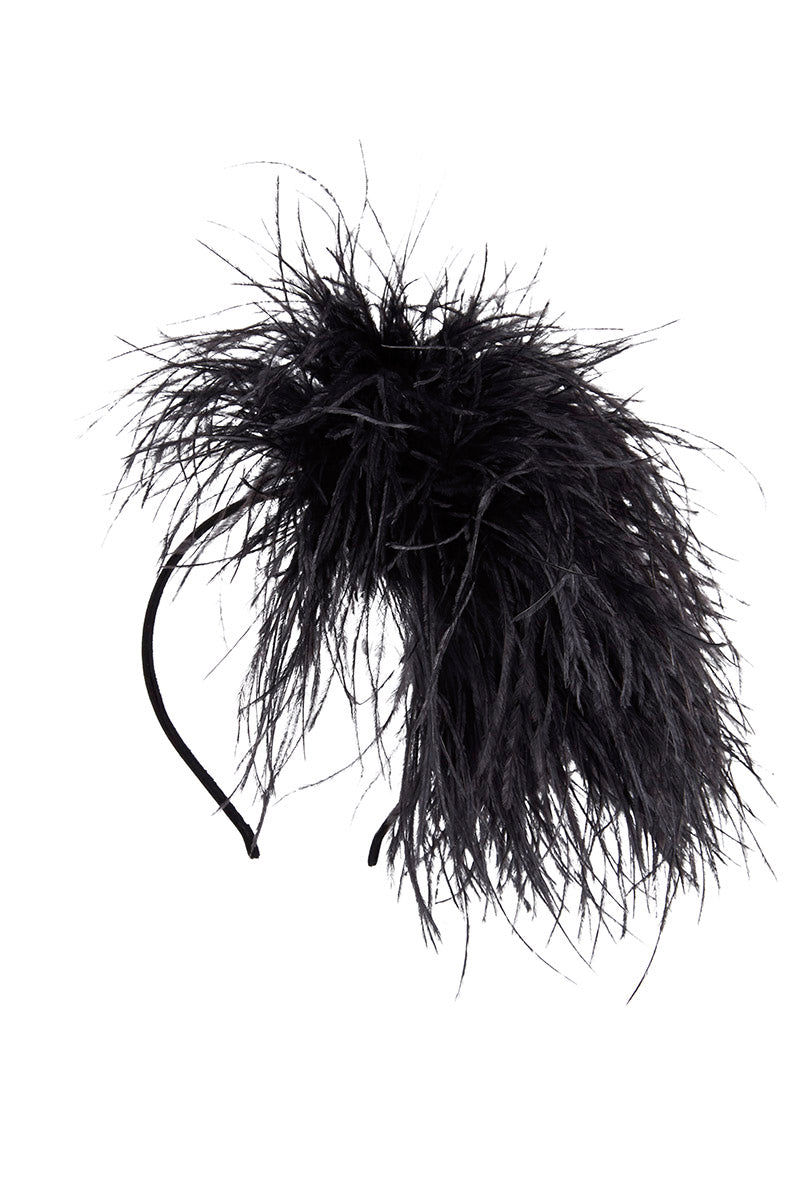 Puff Feather Head Piece