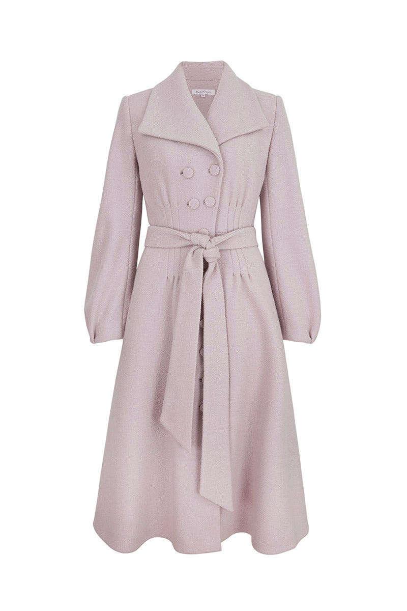Estelle Coat Dusty Pink