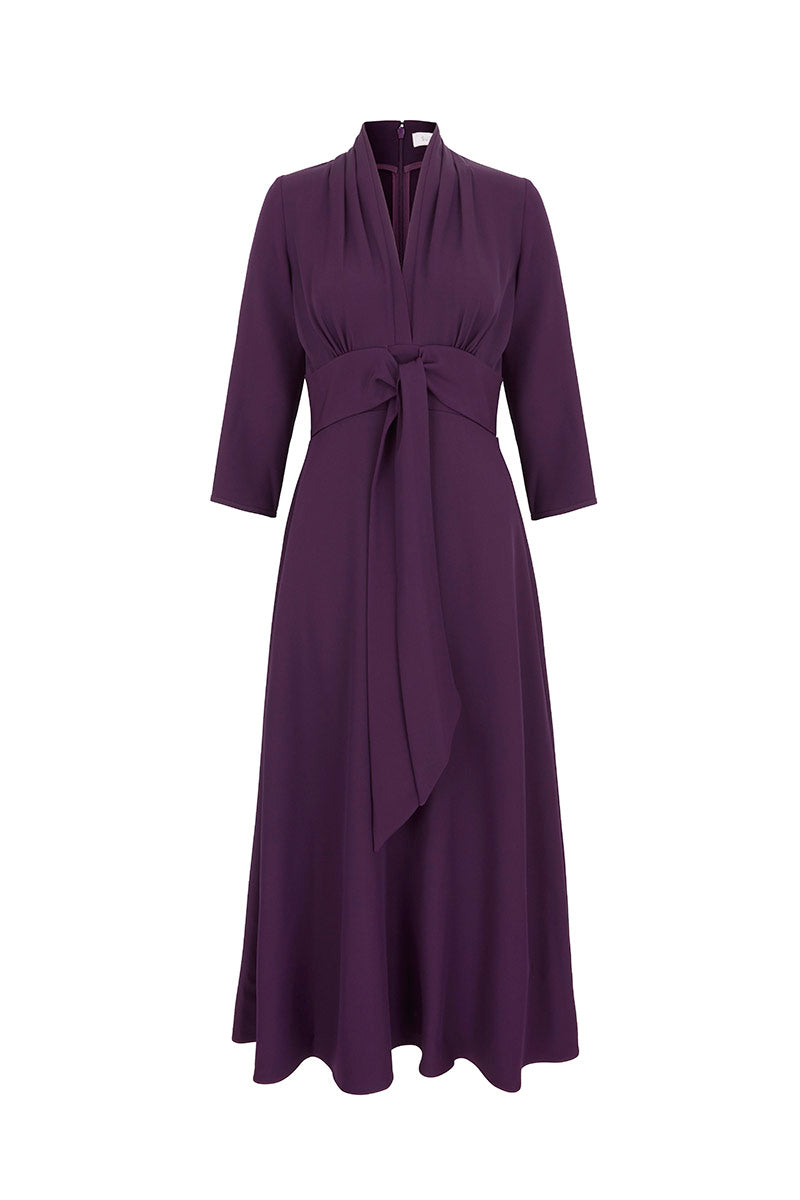 Fontaine Dress Blackcurrant