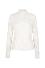 Load image into Gallery viewer, Embroidered Lace High Necked Blouse