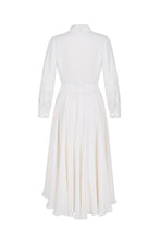 Load image into Gallery viewer, Allison Pure Dress Ivory Silk Crepe
