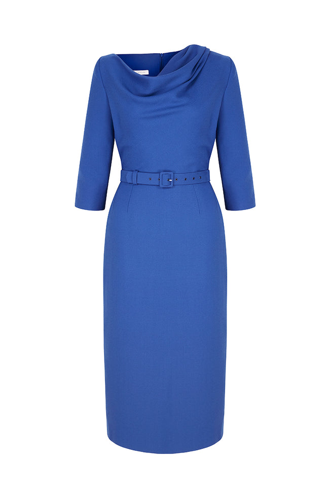 Aimee Dress Azure Blue