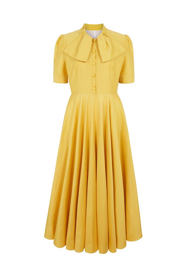 Allison Dress Dandelion Yellow