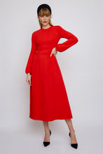 Load image into Gallery viewer, Anna Dress Cherry Red
