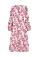 Load image into Gallery viewer, Anna Dress Floral Jacquard