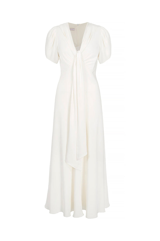 Astor Ivory Simple Wedding Dress