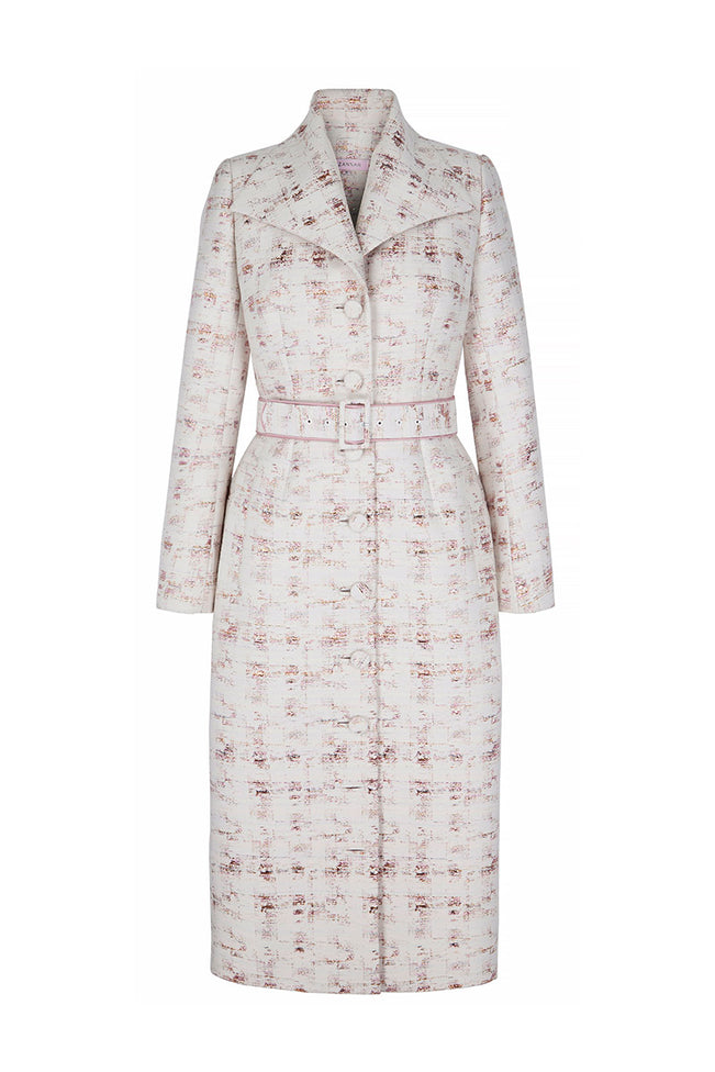 Brodie Coat Dress Sparkle Check