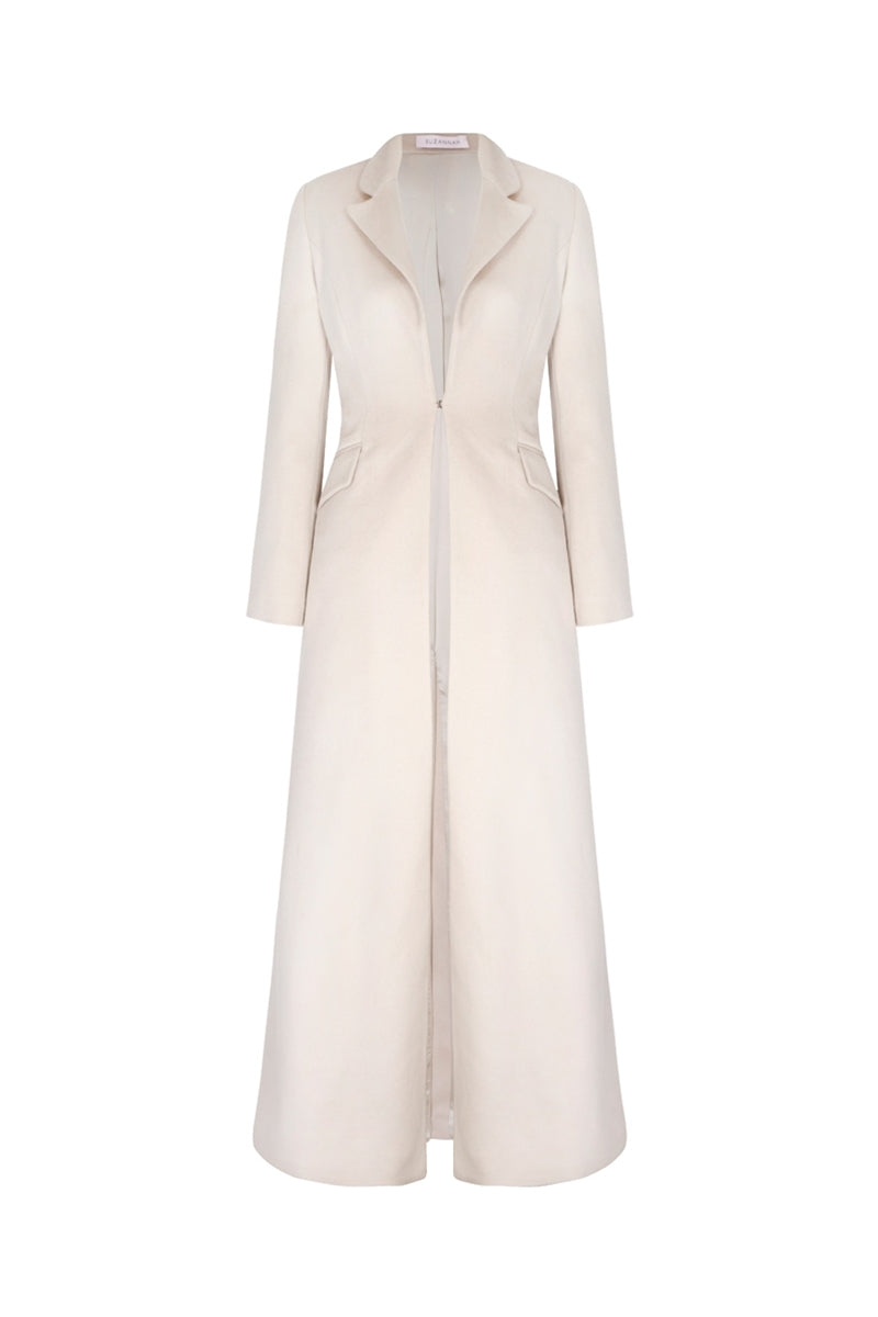 Cashmere Floor Length Tux Coat