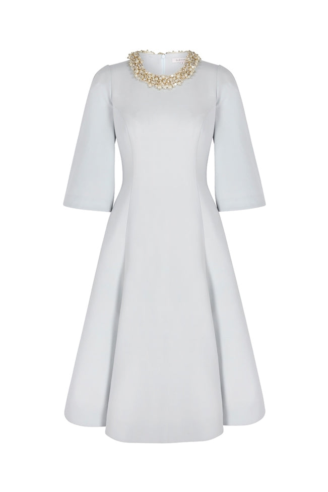 Crawford Embellished Collar Dress