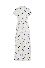 Load image into Gallery viewer, Sharpe Silk Jumpsuit Dalmatian Dot