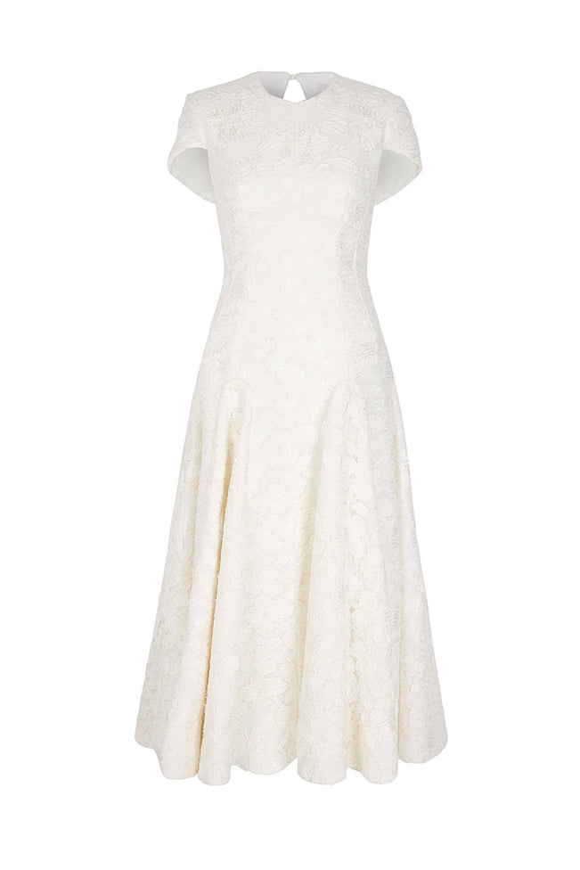 The Epp Dress Ivory Lace