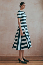 Load image into Gallery viewer, Epp Dress Monochrome Stripe