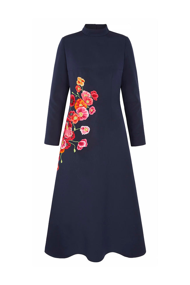 Eva Dress Poppies
