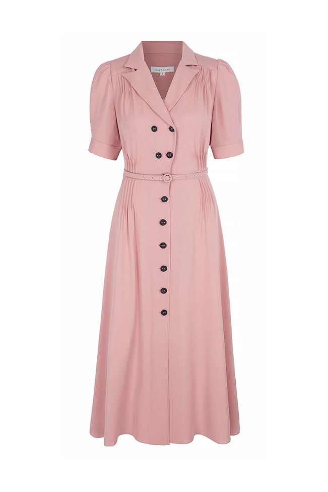 Flippy Wiggle Dress Rose Pink