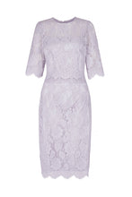 Load image into Gallery viewer, Cecile Lace Dress French Blue