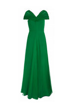 Load image into Gallery viewer, Crystalline Gala Dress Green