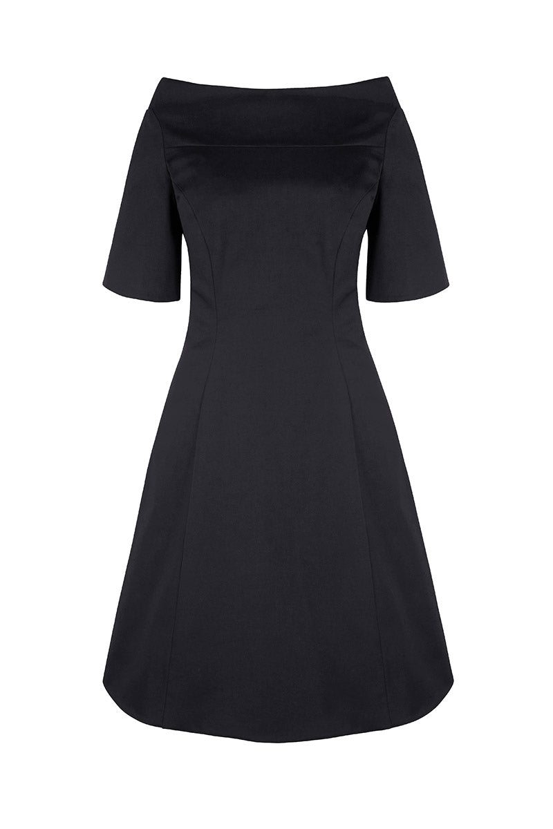 Hicks Dress Black