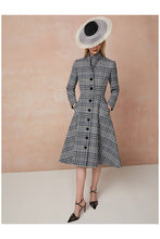 Load image into Gallery viewer, Hunter Coat Dress Check