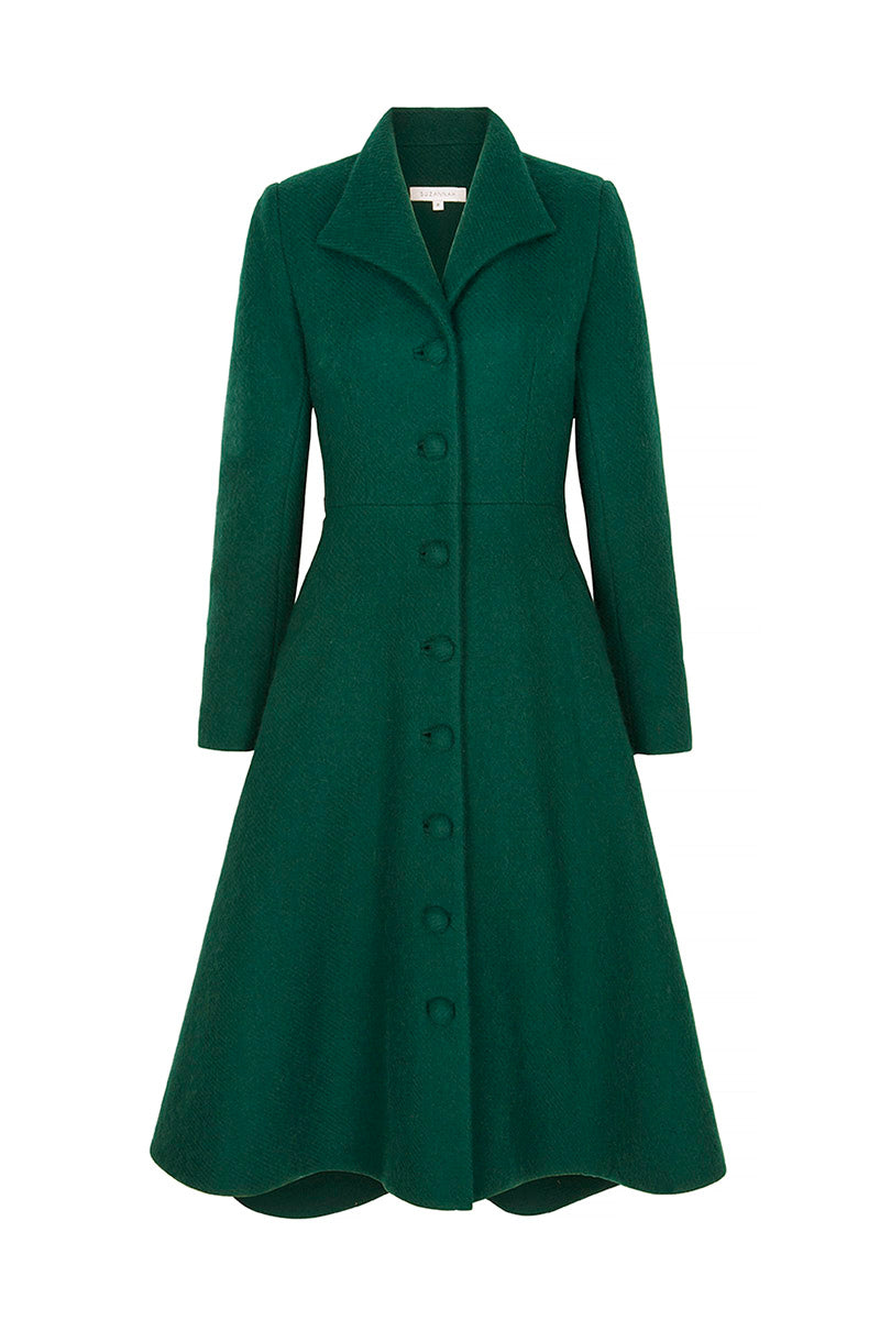 Hunter Coat Forest Green