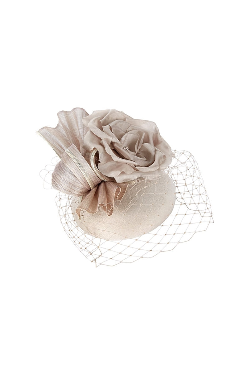 Mini Knot and Floral Putty Hat