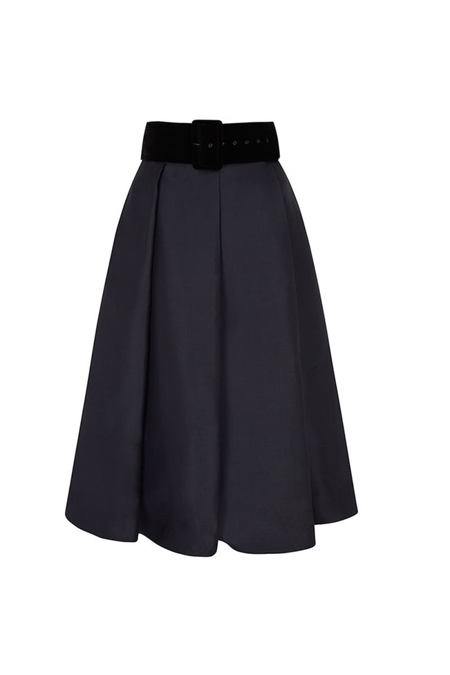 Obsession Midi Skirt Silk Gazar