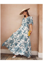 Load image into Gallery viewer, Margot Dress Toile de Jouy