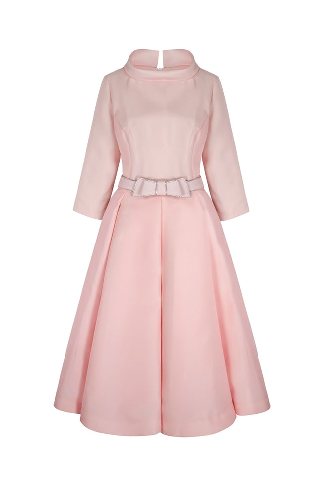 Silk Gazar Obsession Ballerina Dress Pink
