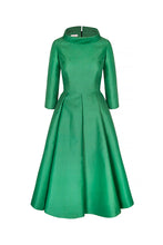 Load image into Gallery viewer, Silk Gazar Obsession Ballerina Dress Apple Green