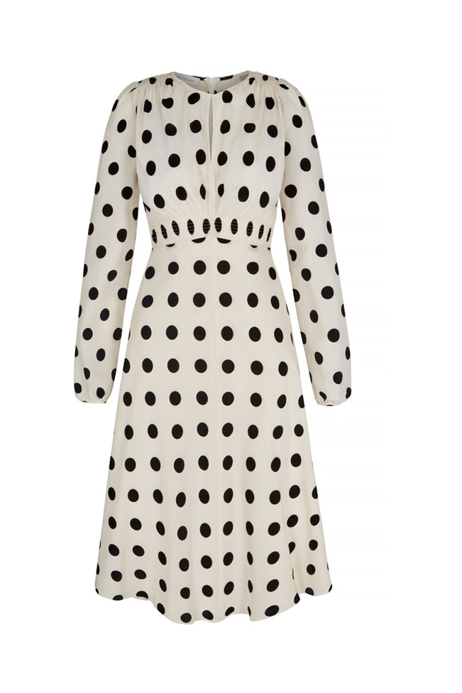 Odette Tea Dress Polka Dot