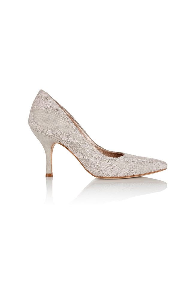 Olivia Lace Court Shoe