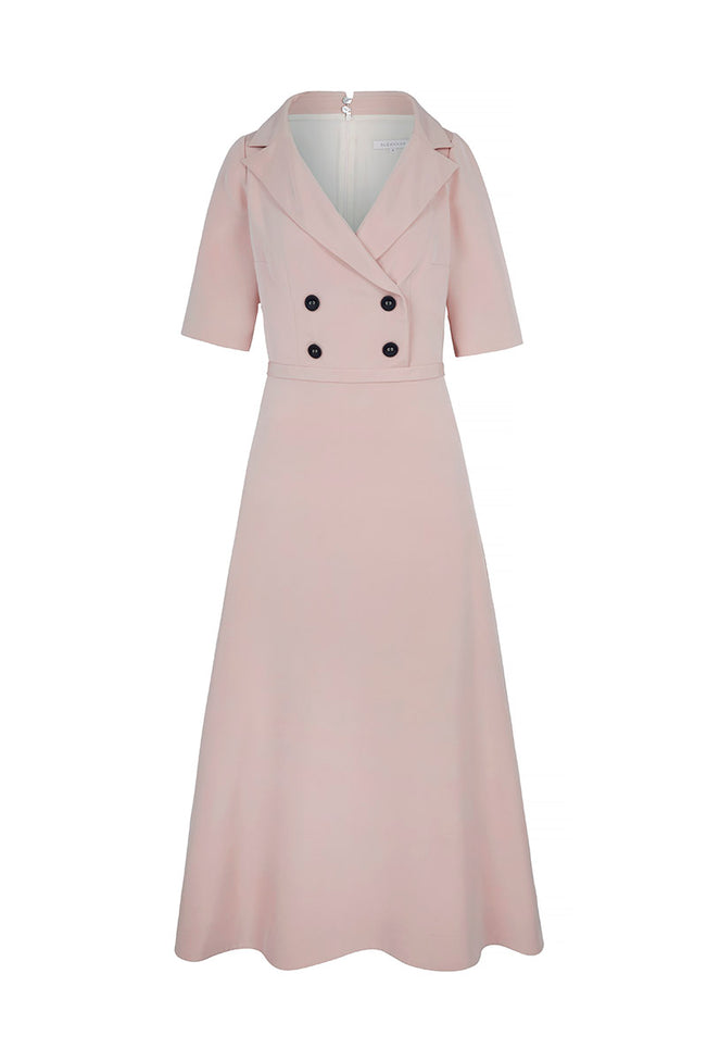 Portrait Collar Occasion Dress