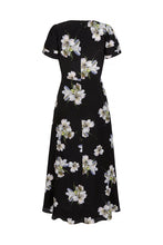 Load image into Gallery viewer, Peruvian Lily Silk Midi Tea Dress