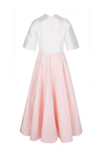 Load image into Gallery viewer, The Courtauld Dress Pink and White