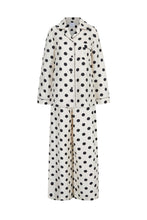 Load image into Gallery viewer, Silk Polka Dot Pyjama Set