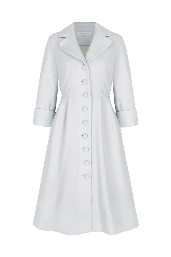 Princess Coat Dress Eucalyptus