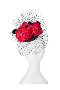 Couture Corsage and Veiling Pill Box