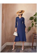 Load image into Gallery viewer, Valerie Midi Dress Polka Dots