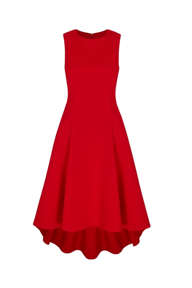 Showstopper Dress Red