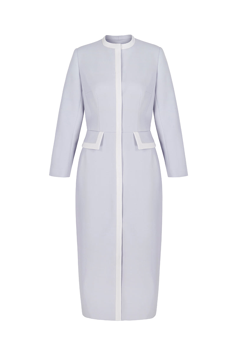 Rivoli Simple Coat Dress