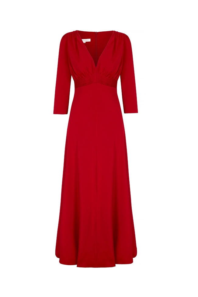 The Lisa Luxe Dress Red